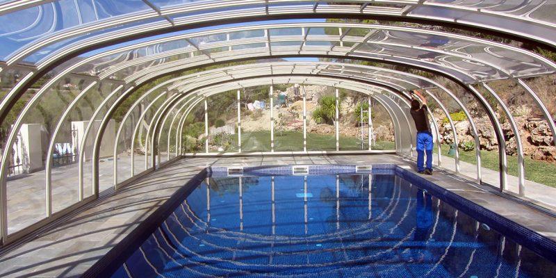 Pool mit freier Sicht